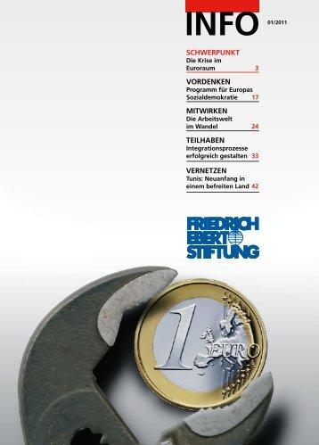 FES-Info 2011, Nr. 1 - Bibliothek der Friedrich-Ebert-Stiftung