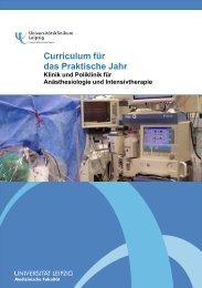 Curriculum für das Praktische Jahr - Universitätsklinikum Leipzig