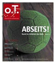 HAMBURG - Das Magazin für Kunst, Architektur und Design