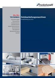 Holzbearbeitungsmaschinen TECNOMAX
