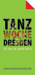 Das Programm zum Download - Tanzwoche Dresden