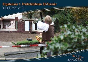 Ergebnisse 20.10.2012 - Akademie für Instinktiven Bogensport