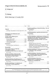 Plenarprotokoll der 72. Sitzung - Abgeordnetenhaus von Berlin