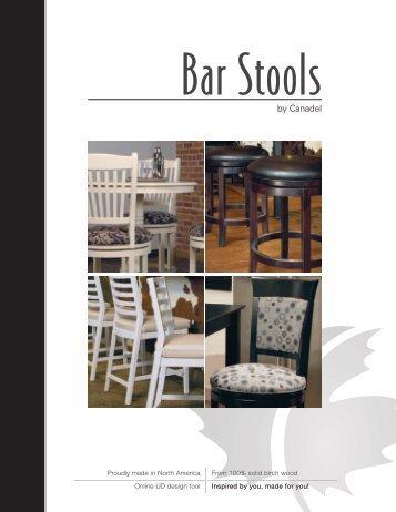 Bar Stools - Canadel