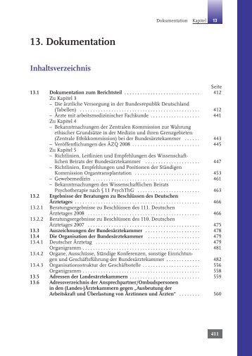 Kapitel 13: Dokumentation - Bundesärztekammer