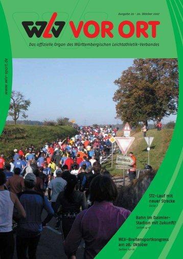 Ausgabe 20 - Württembergischer Leichtathletikverband