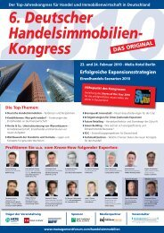 MF Handelsimmobilienkongress HM Int.indd - Management Forum der ...