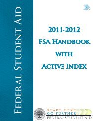 2011-2012 Federal Student Aid Handbook with Active - IFAP - U.S. ...