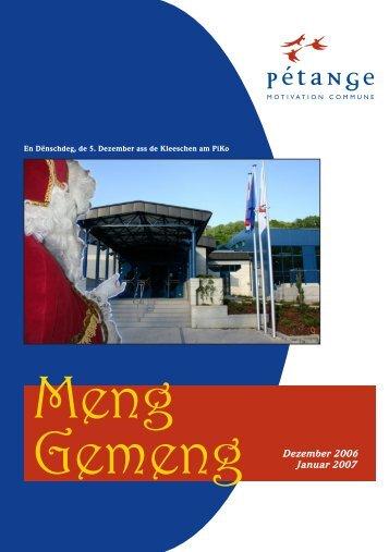 Meng Gemeng - Pétange