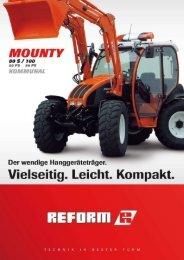 Mounty 80S/100 Kommunal - Landtechnik Rietzler