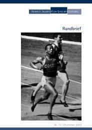 Rundbrief Nr. 11 - Heinrich Jacoby - Elsa Gindler - Stiftung