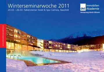 Winterseminarwoche 2011 - Ovi