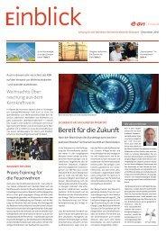 Bereit für die Zukunft - E.ON Kernkraft GmbH