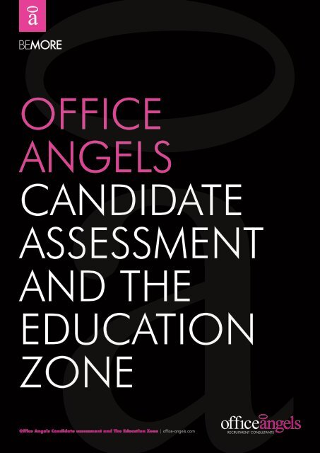 Candidate Assessment And The Education Zone Guide Office Angels Fill in the blanks using the words given in the box. www yumpu com