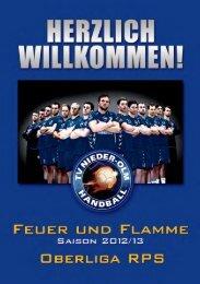 Feuer und Flamme - Saison 2012/13 - TV Nieder-Olm