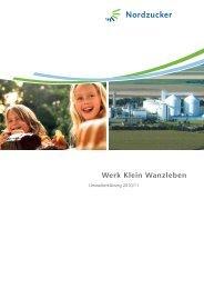 Werk Klein Wanzleben - Nordzucker AG