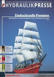 PDF-Download vom August 2005 - HANSA-FLEX