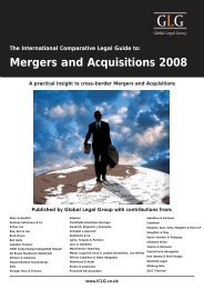 Mergers and Acquisitions 2008