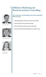Effektives Marketing mit Brand Investment Controlling - Batten ...