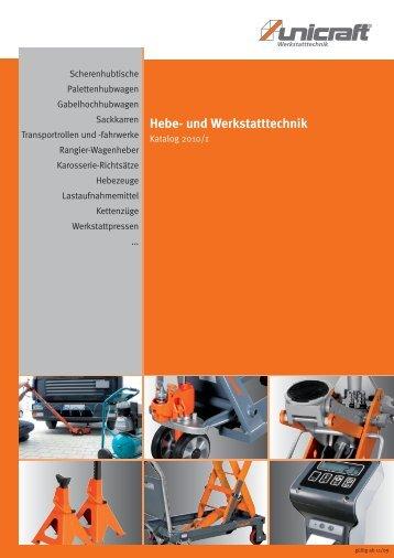 Hebe- und Werkstatttechnik - Herm. Fichtner Hof GmbH