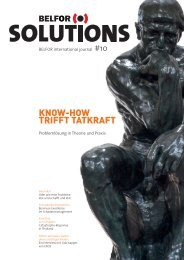 KNOW-HOW TRIFFT TATKRAFT - Belfor