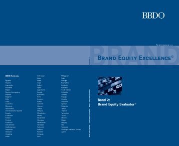 Brand Equity Excellence - Batten & Company