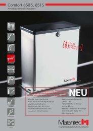 Comfort 850 S, 851S - Herm. Fichtner Hof GmbH