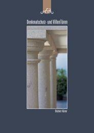 Denkmalschutz- und VillenTüren - Becher