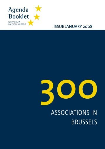 ASSOCIATIONS IN BRUSSELS - European Agenda