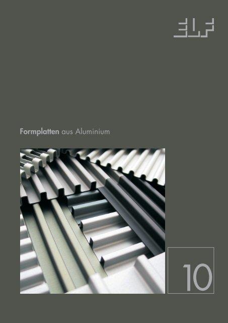 Formplatten aus Aluminium - Fielitz GmbH Leichtbauelemente