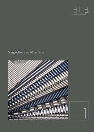 Stegplatten aus Aluminium - Fielitz GmbH Leichtbauelemente