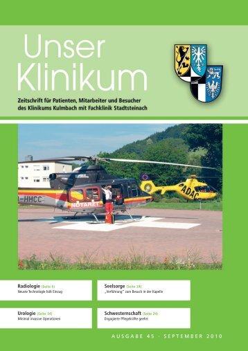 Radiologie - Klinikum Kulmbach