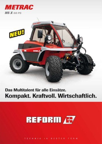 Metrac H5X - Landtechnik Rietzler