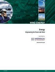 WIND ENERGY - Merrick & Company