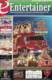 November '12 - The Entertainer Newspaper