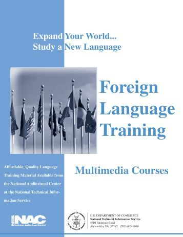 Foreign Language Training - National Technical Information Service