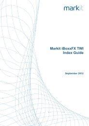 Markit iBoxxFX TWI Index Guide_20120907 - Markit.com