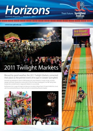 2011 Twilight Markets - The Springfield Anglican College