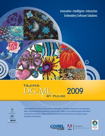 Download Pulse Software Embroidery Machine Software Brochure
