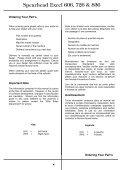 Excel 606, 686, 726 & 836 Twiga 7000/7000LR/7000 Telescopic - Seite 4