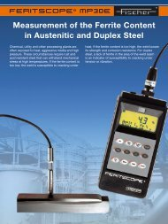Measurement of the Ferrite Content in Austenitic and ... - Labsys