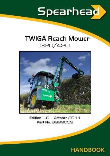 Twiga 320 / 420 - Spearhead Machinery Ltd