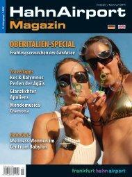 Magazin - HahnAirport Magazines