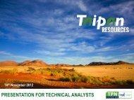 2012-11-16_Taipan_TechnicalAnalystPres.pdf - Taipan Resources ...