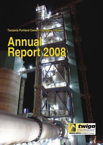 TPCC Annual Report 2008.indd - HeidelbergCement