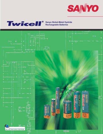 Sanyo Nickel-Metal Hydride Rechargeable Batteries - JMR-Comp