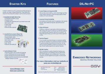 product overview - DIL/NetPC