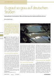 Es graut so grau auf deutschen Straßen - Info - Werner Rudolf Cramer