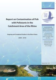 Report on Contamination of Fish with Pollutants in the ... - IKSR