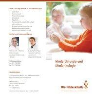 Kinderchirurgie und Kinderurologie - in der Filderklinik